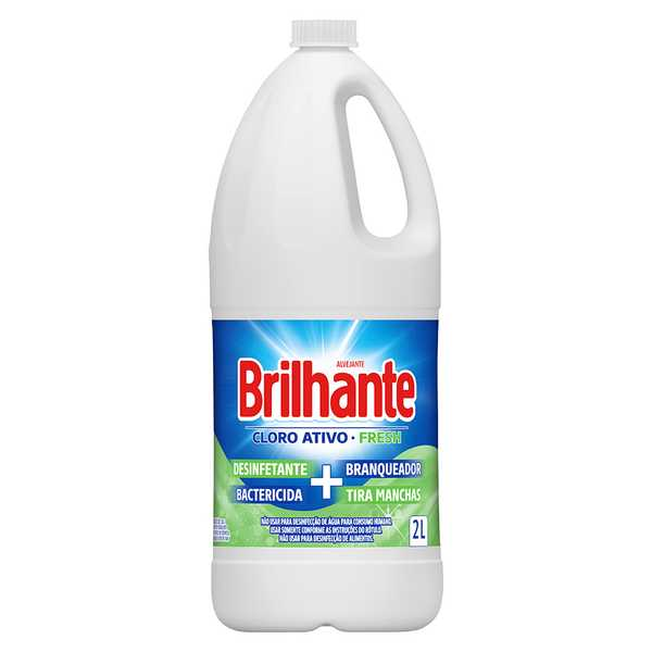Alvejante Brilhante Cloro Ativo Fresh