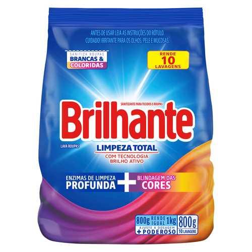 Brilhante Limpeza Total Sanitizante para tecidos e roupas packshot