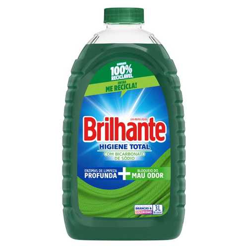 Sabão Líquido Brilhante Higiene Total packshot