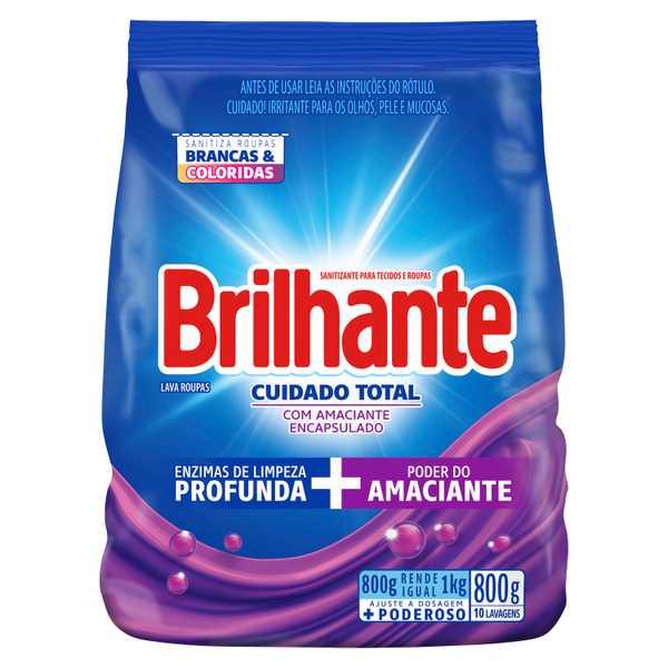 Brilhante Cuidado Total Sanitizante para tecidos e roupas packshot