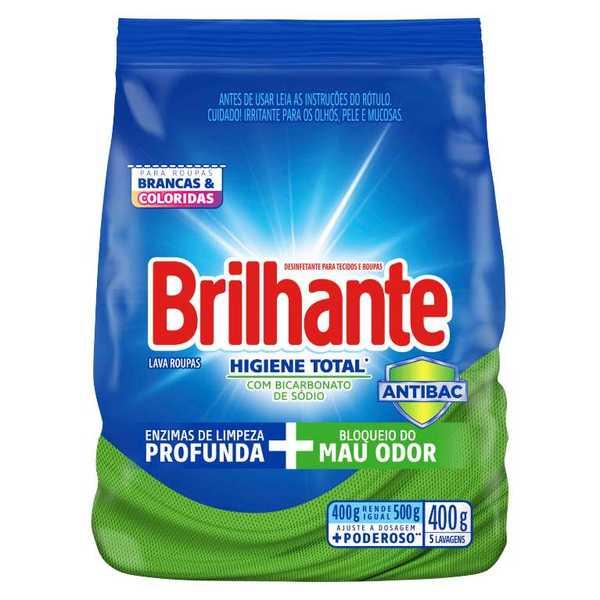 Brilhante Higiene Total Desinfetante para tecidos e roupas packshot